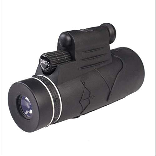 WEI-LUONG HD monocular, telescopio monocular Zoom con el teléfono y Soporte for trípode, monocular for la observación de Aves, Caza, Camping, Senderismo, al Aire Libre 50 Veces al Aire Libre