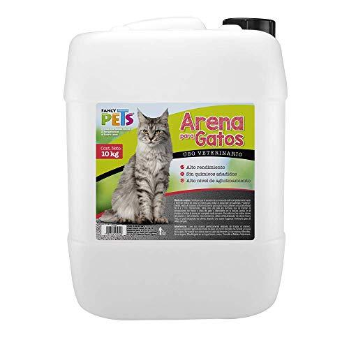 arena para gato bob 10 kg fabricante Fancy Pets