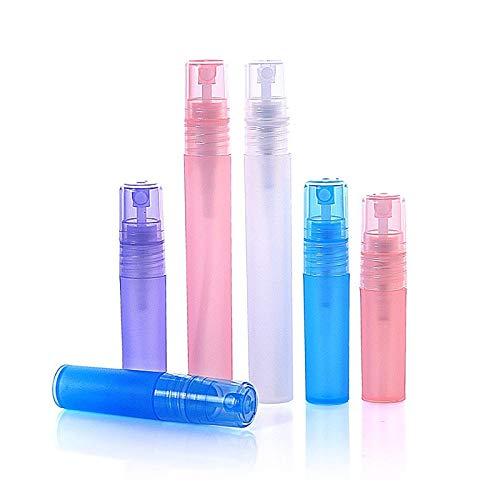 Le vaporisateur de parfum peut être rempli dans des flacons de pulvérisation pour les plantes, les cuisines, les cosmétiques, 5 paquets de 10 ml bleu