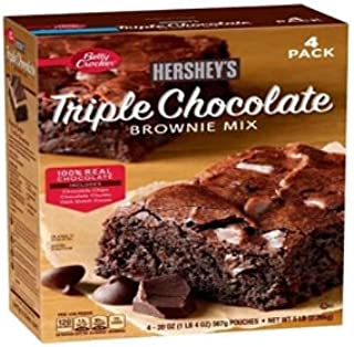 Betty Crocker's Hershey's Triple Chocolate Brownie Mix (20 oz. ea., 4 pk.) (pack of 6)