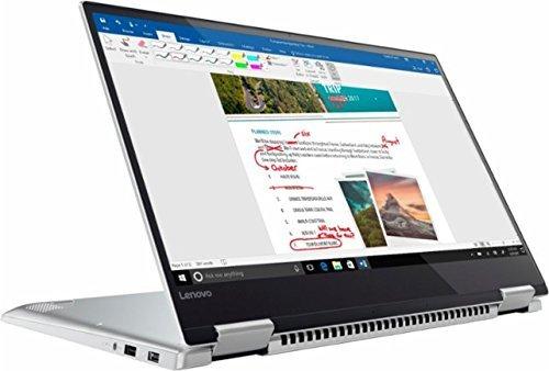 Lenovo Yoga 720 2-in-1 15.6' FHD IPS Touchscreen Ultrabook, Quad Core Intel i7-7700HQ, 8GB DDR4 RAM, 256GB SSD, Thunderbolt, Fingerprint Reader, Backlit Keyboard, Built for Windows Ink-Win10 (Renewed)