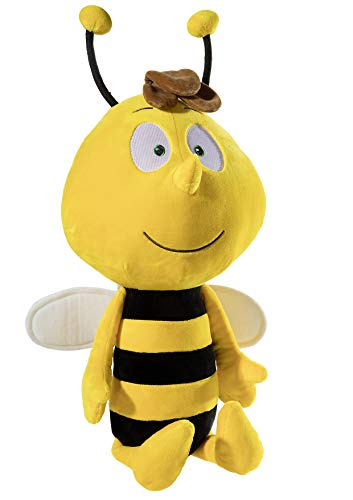 Heunec 605770 Biene Maja Willi groß ca 70 cm, Mehrfarbig