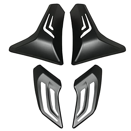 ZHEKAI Fit for Yamaha T-MAX TMAX 530 Fit for 2017-2019 Turn Signal Light Cover Tail Shell Caps Matte Black