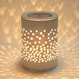Bobolyn Ceramic Electric Oil Burner Wax Melt Burner Warmer Melter Fragrance Oil Burner