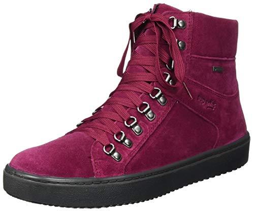 Superfit Mädchen HEAVEN leicht gefütterte Gore-Tex Sneaker, ROT 5000,32 EU