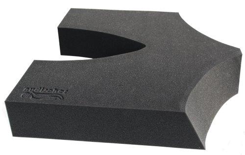 COCCY-XL Steißbein Kissen | orthopädisches Sitzkissen | coccyx Entlastungs Kissen Breite 46 cm Tiefe 43 cm Höhe 8 cm ohne Bezug |