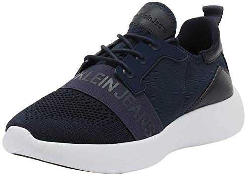 Calvin Klein Jeans Mel Mens Navy Trainers-UK 12