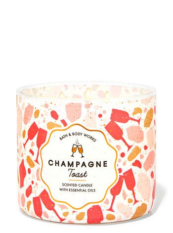 Bath and Body Works Champagne Toast 14.5 oz / 411g 3-Wick Scented Candle