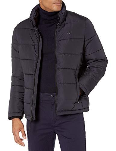 Calvin Klein Herren Alternative Down Puffer Jacket Windjacke, New Blue, Large