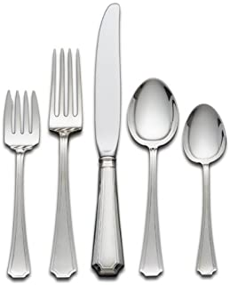Gorham Fairfax 5-Piece Sterling Silver Flatware Place Set, Service for 1