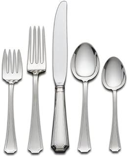 Gorham Fairfax 5-Piece Sterling Silver Flatware Place Set, Service for 1