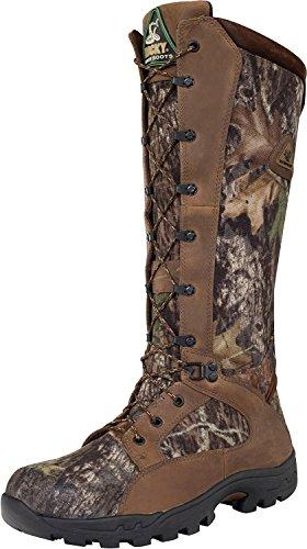 "ROCKY Men's 16"" Prolight Waterproof Snake Proof Hunting Boot-1570 (M11.5) Brown"