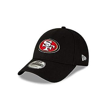 New Era Men s Black San Francisco 49ers The League 9FORTY Adjustable Hat