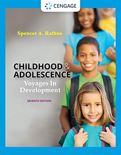 Compare Textbook Prices for Childhood and Adolescence: Voyages in Development MindTap Course List 7 Edition ISBN 9780357374108 by Rathus, Spencer A.