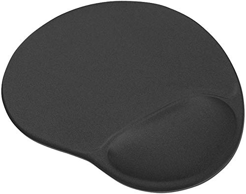 Best Price Square MOUSEMAT, Bigfoot Gel Black BPSCA 16977 - CS27734 di Trust