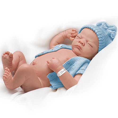 "Linda Webb's Charlie Anatomically Correct Baby Boy, 22"""