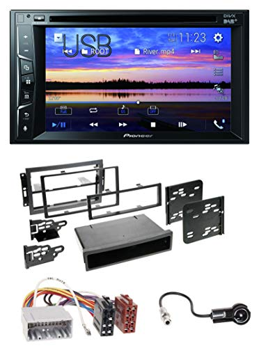 caraudio24 Pioneer AVH-A3200DAB Bluetooth 2DIN USB DVD DAB MP3 Autoradio für Chrysler PT Cruiser 300C Dodge Jeep Commander