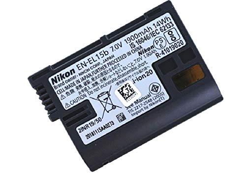 Nikon Original Akku für Nikon EN-EL15/EN-EL15A/EN-EL15B, Camcorder/Digitalkamera Li-Ion Batterie