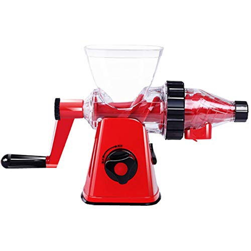 Big Save! Hchao Multifunction Portable and Durable Suction Cup Type Manual Masticating Juicer, All P...