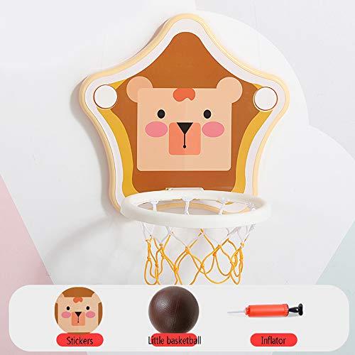 LLDMZ Der Basketballstand der Kinder kann auf den Innenaufnahme Basketball-Reifen des Babys angehoben und abgesenkt Werden, Infant