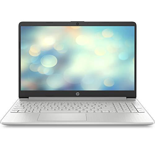 """HP 15s-fq1113ns - Ordenador portátil de 15.6"""" FullHD (Intel Core i5-1035G1, 16GB RAM, 1TB SSD, Intel UHD Graphics, sin sistema operativo) plata natural - Teclado QWERTY Español"""