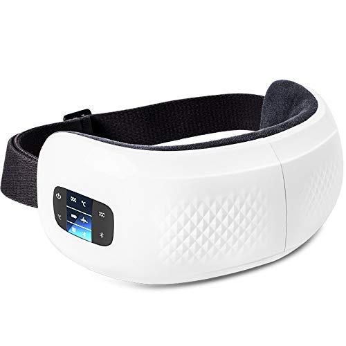 Preisvergleich Produktbild Augenmassagegerät,  Hot Eye Care,  tragbare Bluetooth-Augenmaske für schwarze Augen