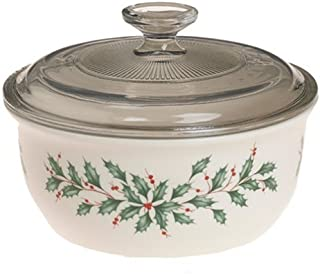 Lenox Holiday Casserole with Lid