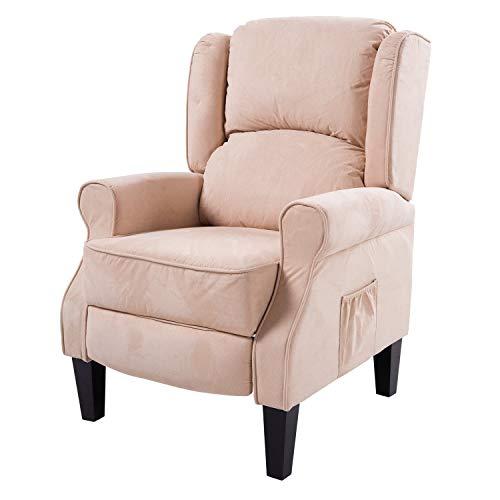 homcom Poltrona Massaggiante Relax Reclinabile...