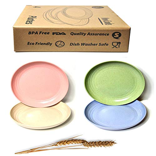 Wheat Straw Plate 4 Pack