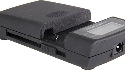 Bilora LCD Li-ION Charger Kompaktes Universal-Ladegerät für Fast alle Li-Ionen-Akkus sowie für Handy-Akkus
