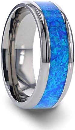 Thorsten Galaxy Titanium Rings for Men Lightweight Titanium Comfort Fit Titanium Polished Beveled product image