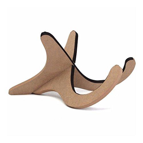 GESUND Klappbarer Instrumentenständer aus Holz Verstellbarer Ukulelenständer Violinenständer