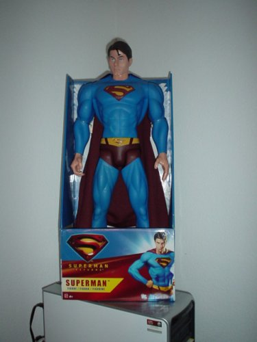 "Superman: 30"" Poseable Action Figure"
