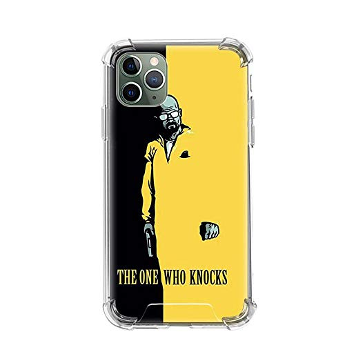 Tznzxm Heisenberg Breaking Bad Funda iPhone Airbag Anti-Fall Clear Soft Phone Cover Color_10 For Funda iPhone 6 Plus/Funda iPhone 6S Plus Cases