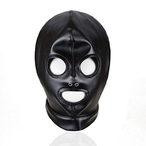 Máscara de Cuero con Ojos Abiertos, Accesorios de Escenario