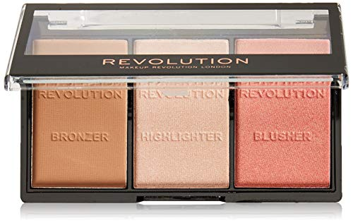 Makeup Revolution London Ultra Sculp Contour Kit C01 Fair Paleta de contorno facial (5029066043481)