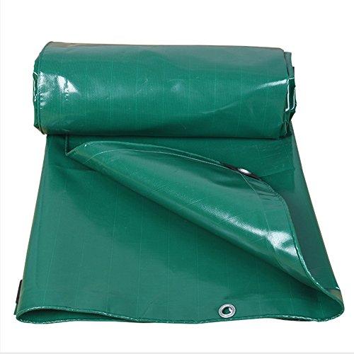 Yxsd Bâche Double Face imperméable épaisse résistant à l'usure 500g / m2 pour Le Couvert végétal Vert (Size : 3x6m)