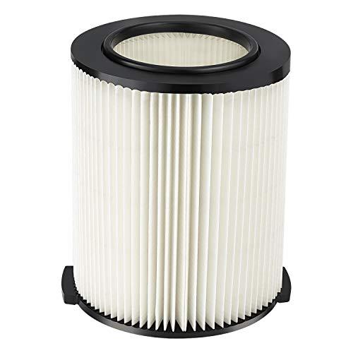 iSingo Ridgid Standard Wet/dry Vac Filter VF4000 Compatible with Ridgid Wet Dry Vacs 5 to 20-Gal, Husky Vacs 6 to 9 Gal, Craftsman 17816 Vacuum, 1 Pack