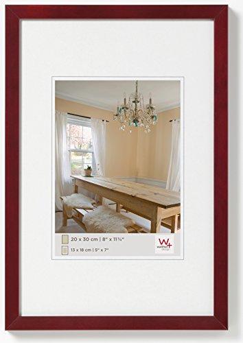 walther design BP030R Peppers Bilderrahmen, Holz, 20 x 30 cm, mahagoni