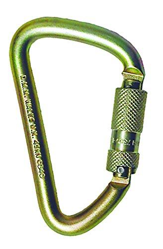 MSA Safety 506572 - Mosquetón de acero con cierre de rosca automático, puerta de 7/8