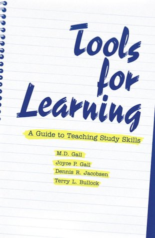 Tools For Learning A Guide To Teaching Study Skills