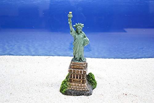 Amtra Freiheitsstatue Aquarium Dekoration Miniatur Dekofigur Aquarien Zubehör Fische Garnelen Terrarium