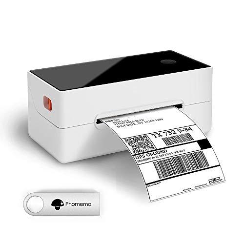 Phomemo Thermal Label Printer- Shipping Label Printer- for Shipping Labels, Barcodes, Mailing, Compatible with UPS WorldShip, Amazon, Ebay, Etsy, Shopify,etc Works on Windows, Mac OS