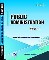 Aribam Paper 2 (Second Edition) Public Administration