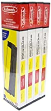 Fullmark N655BK High Density Nylon Printer Ribbon compatible replacement for Epson LQ 350/LX 350, S015633/S015637, Black, 4-pack