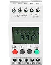 Relé, error de fase de sobretensión Protección de la pantalla LCD Monitorización de voltaje de 3 fases relé de monitoreo protección de secuencia de fase del relé
