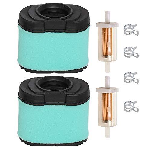 Carkio Luftfilter Reiniger Vorfilter Kraftstofffilter für Briggs & Stratton 792105 276890 407777 40G777 5405H 5405K John Deere MIU11515 GY21057 LA155 LA165 LA175 L120 L118 Rasenmäher