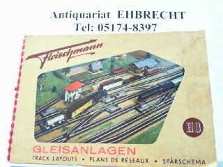 Fleischmann Gleisanlagen für Modell-Eisenbahnen Spur HO.
