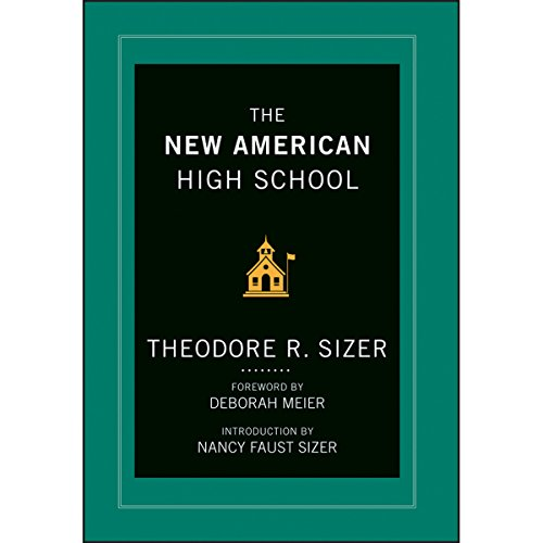 The New American High School audiobook cover art