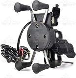 AutoStark Motorcycle Phone Mount, Universal Bike Cell Phone Spider Bike Multifunctional Mobile Holder